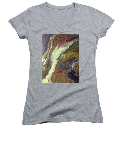 Agate Waterfall Women's V-Neck