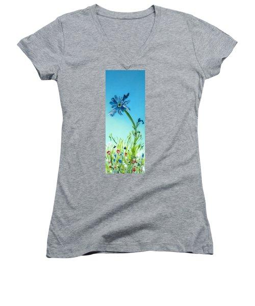 Aiming High Women's V-Neck T-Shirt