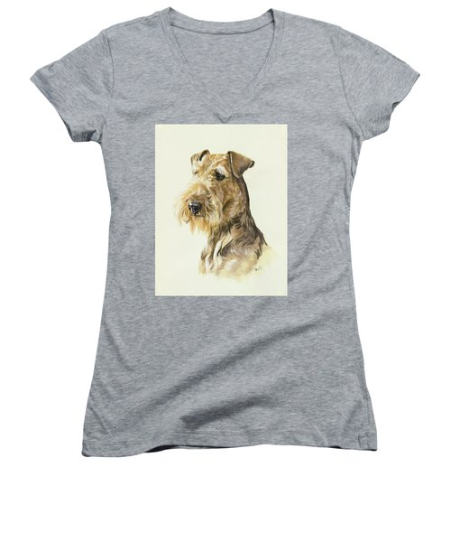 Airedale Women's V-Neck (Athletic Fit)