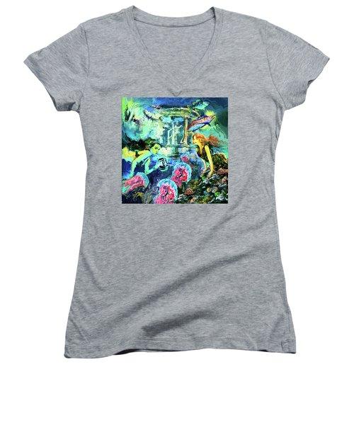 Alantis Women's V-Neck T-Shirt