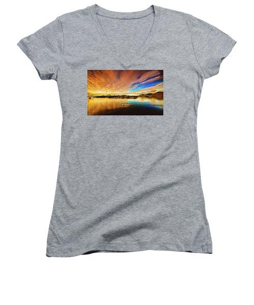 Alaska Women's V-Neck T-Shirt