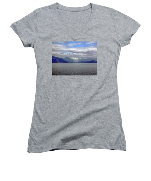 Alaskan Coast 2 Women's V-Neck