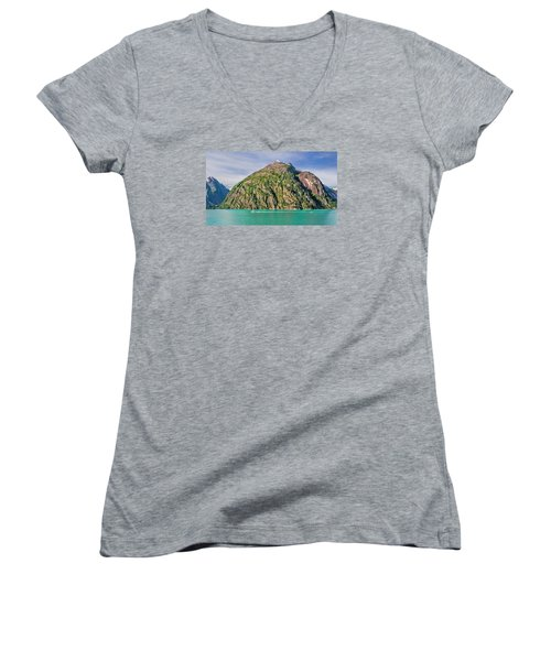 Alaskan Day Cruise Women's V-Neck T-Shirt