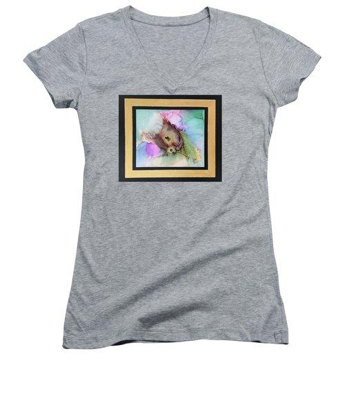 Alcoholic Flower Women's V-Neck T-Shirt