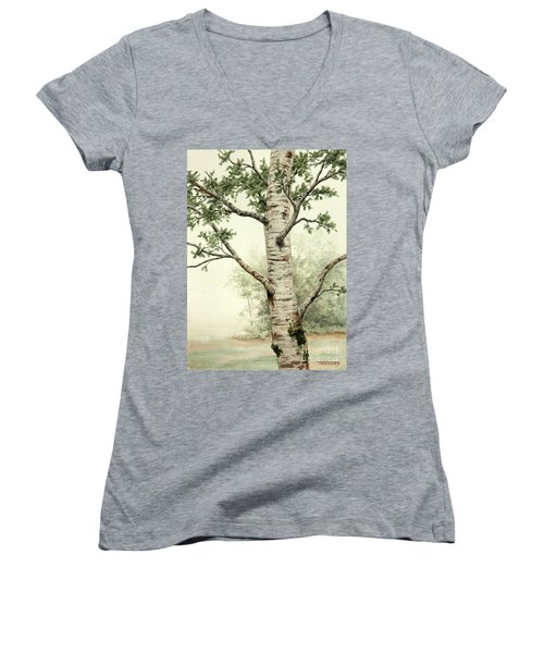 Alder Tree Women's V-Neck (Athletic Fit)