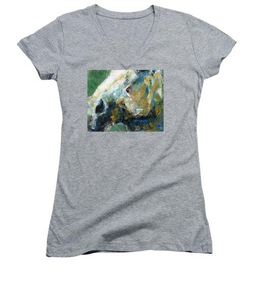 Alerted Women's V-Neck T-Shirt