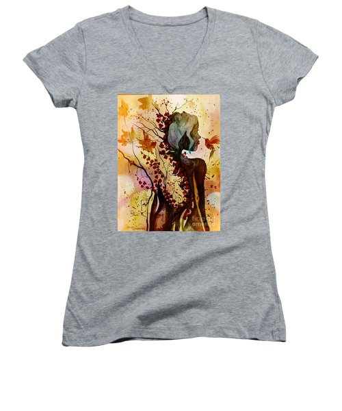 Alex In Wonderland Women's V-Neck T-Shirt