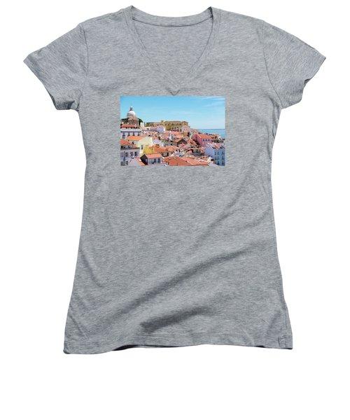 Alfama Women's V-Neck T-Shirt