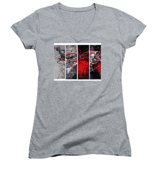 Algorithm Women's V-Neck