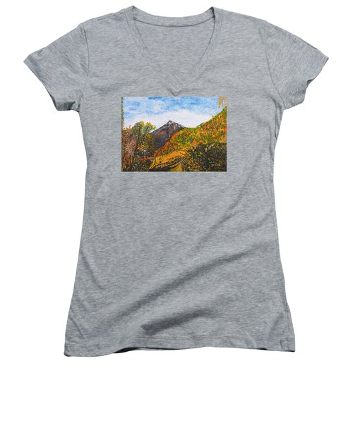 Algund View Women's V-Neck T-Shirt