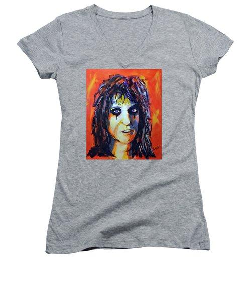 Alice Women's V-Neck T-Shirt