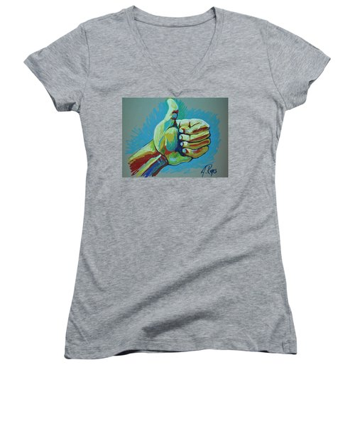 All Good Women's V-Neck (Athletic Fit)