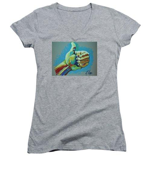 All Good Women's V-Neck T-Shirt