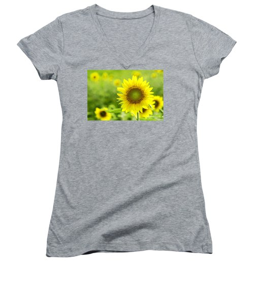 All Is Well With My Soul Women's V-Neck T-Shirt
