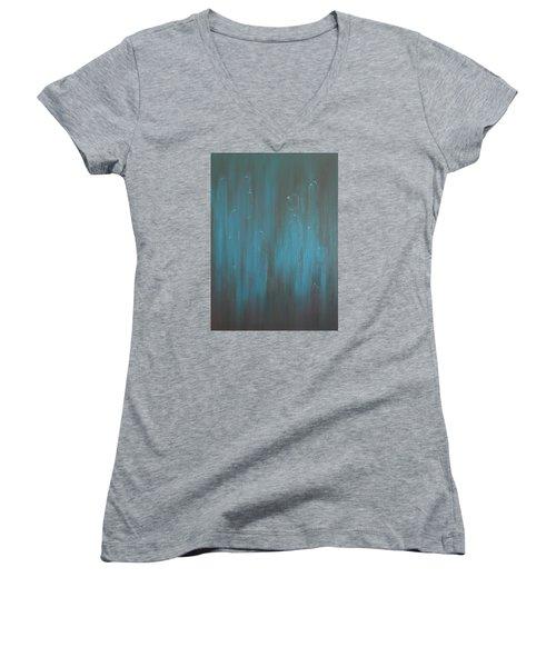 All Kinds Women's V-Neck T-Shirt (Junior Cut) by Min Zou