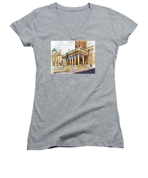 All Saints Church Northampton Women's V-Neck T-Shirt