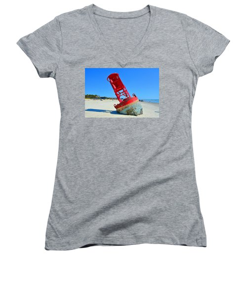 All Washed Up Women's V-Neck