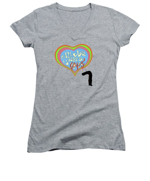 All You Need Is Cats Women's V-Neck