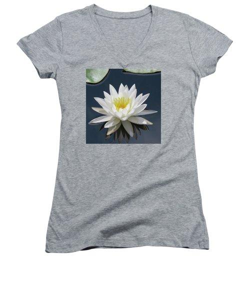 Almost Perfect Women's V-Neck T-Shirt (Junior Cut) by Rosalie Scanlon
