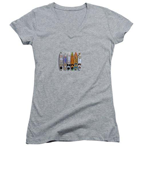 Women's V-Neck T-Shirt (Junior Cut) featuring the photograph Aloha Y'all by DJ Florek