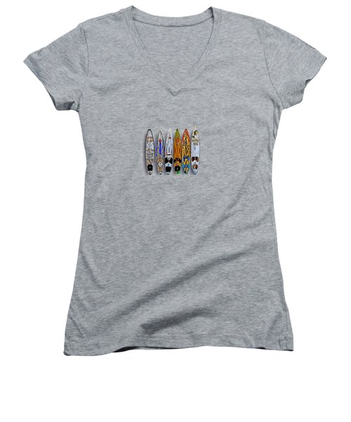 Aloha Y'all Women's V-Neck (Athletic Fit)