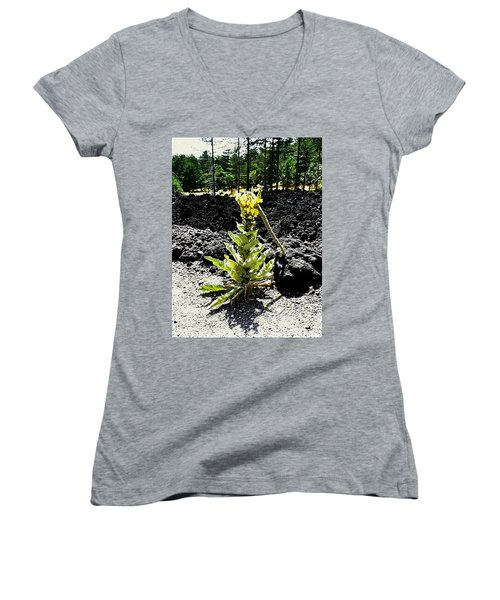 Alone Again Women's V-Neck