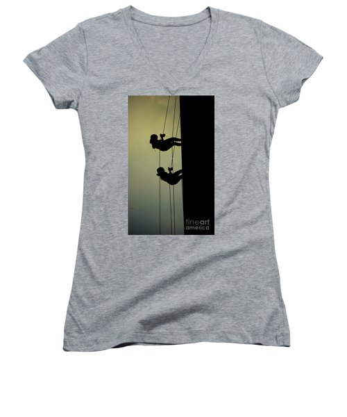 Alone Togther Women's V-Neck T-Shirt