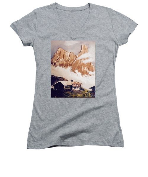 Alpine Home  Women's V-Neck