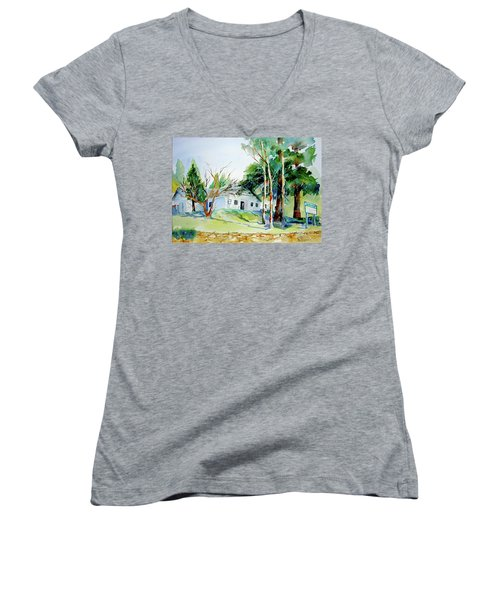 Alta/dutch Flat School Women's V-Neck