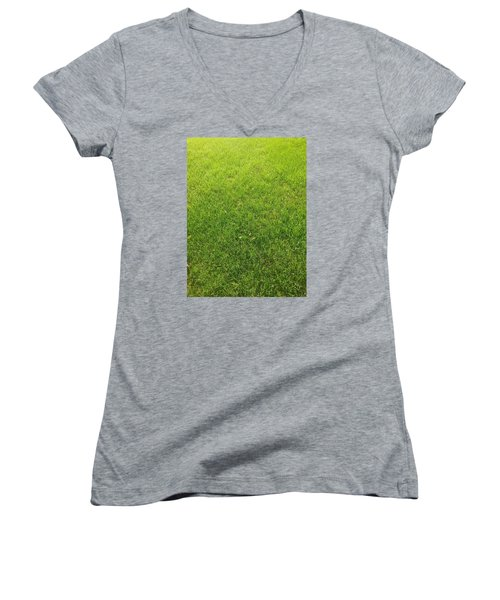 Always Greener Women's V-Neck (Athletic Fit)