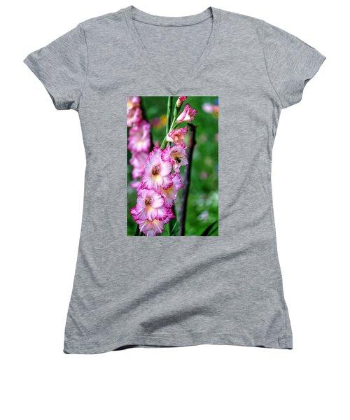 Amaryllis Women's V-Neck T-Shirt