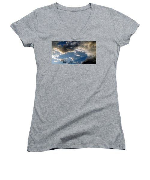 Amazing Sky Photo Women's V-Neck