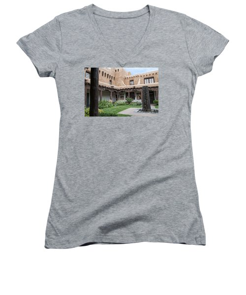 Amazing  Santa Fe Adobe  Women's V-Neck