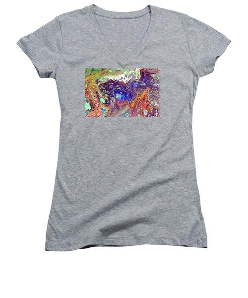 Amber Rave Women's V-Neck T-Shirt