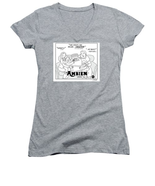 Ambien Coming This Fall To Abc Women's V-Neck
