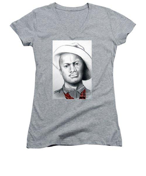 American Cowboy Women's V-Neck T-Shirt
