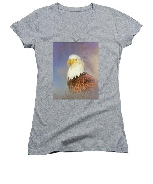 American Eagle Women's V-Neck T-Shirt