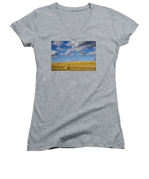 American Gold Women's V-Neck T-Shirt