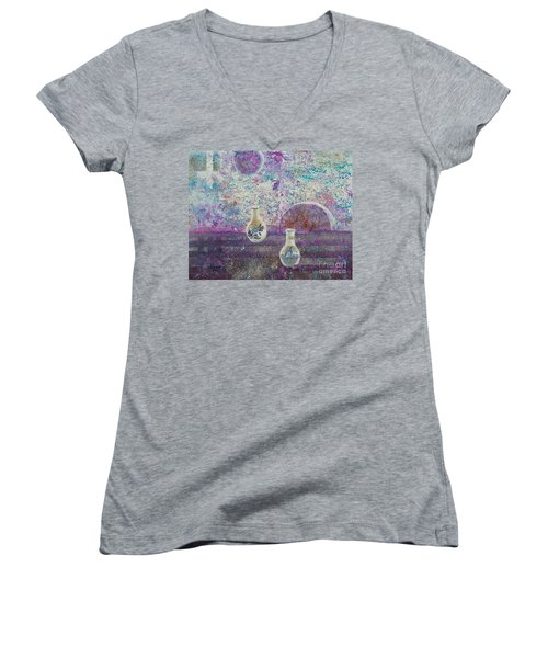 Amphora-through The Looking Glass Women's V-Neck