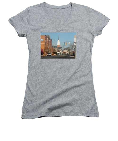 An Aberdeen Afternoon Women's V-Neck