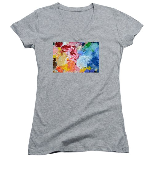 An Artful Blend Women's V-Neck