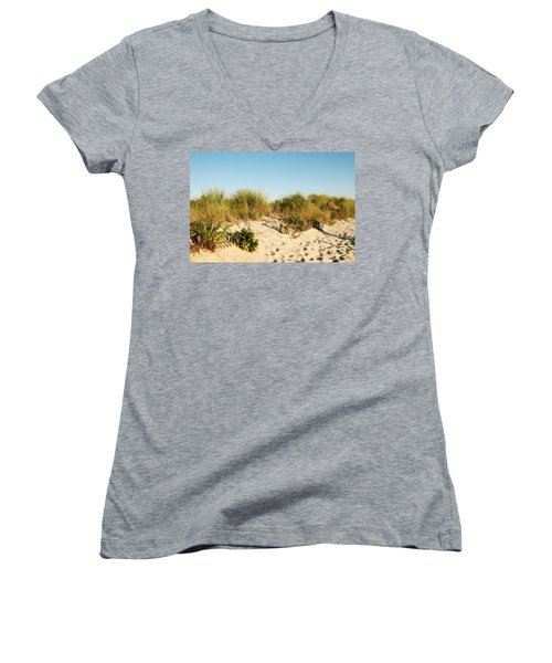 An Opening In The Fence - Jersey Shore Women's V-Neck