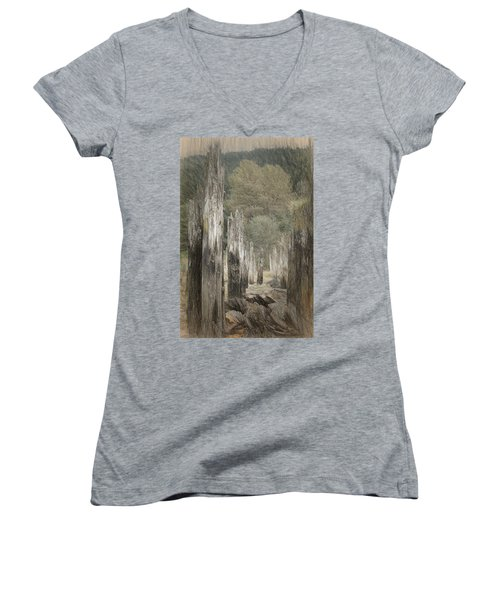 An Other Time Women's V-Neck T-Shirt