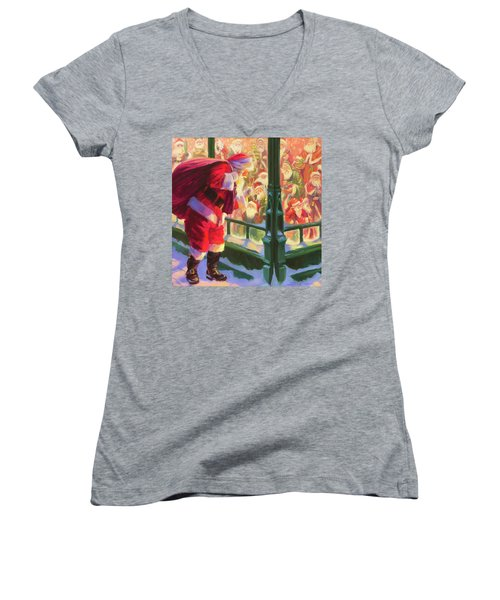 An Unforeseen Encounter Women's V-Neck (Athletic Fit)