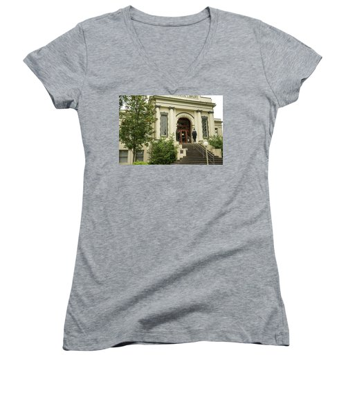 Anacortes Museum Women's V-Neck