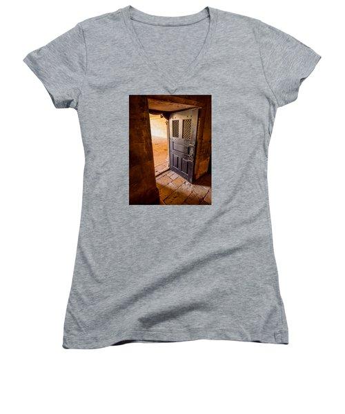 Ancient Door Women's V-Neck T-Shirt