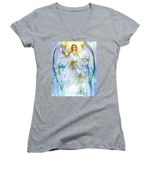 Angel Of Love Women's V-Neck T-Shirt