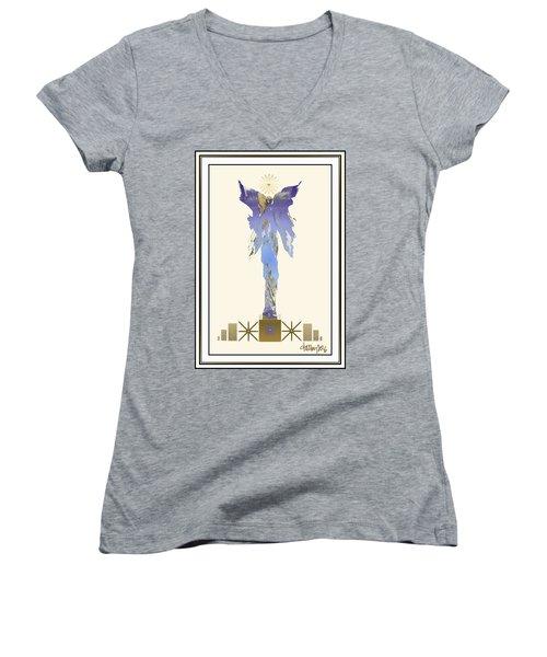 Angel Of Mercy Women's V-Neck