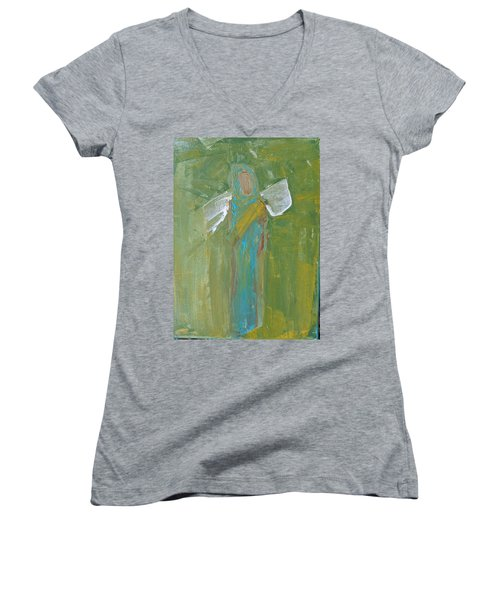Angel Praise And Worship Women's V-Neck
