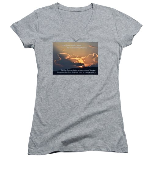 Angel Sky Women's V-Neck